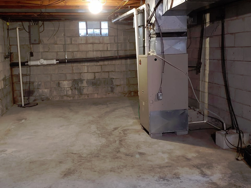 Junk Removal Basement