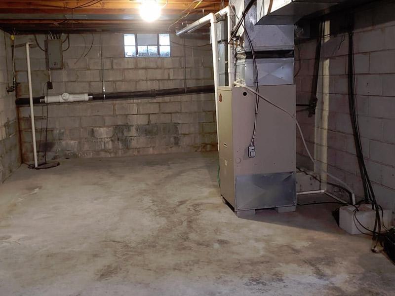 Junk Removal Basement